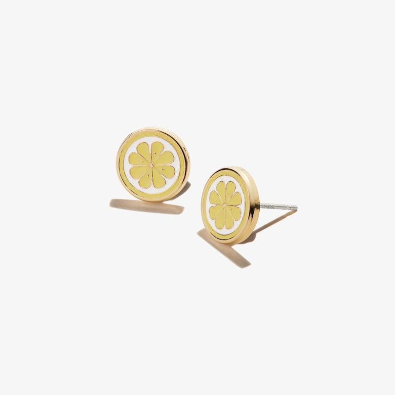 Zest for Life Lemon Stud Earrings