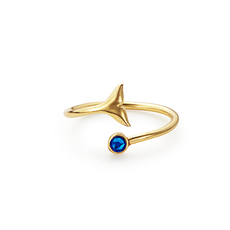 Whale Tail Ring Wrap