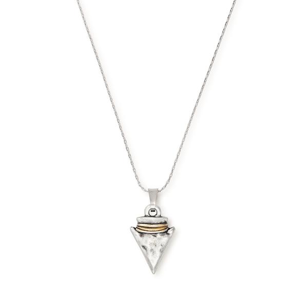 Arrowhead Charm Necklace