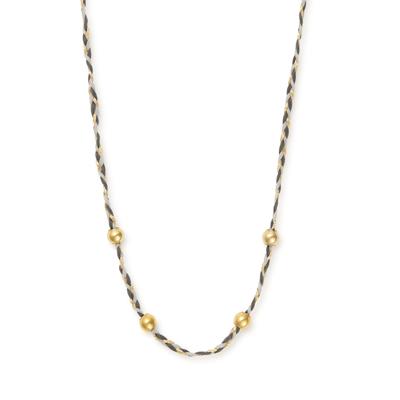 Succulent Precious Thread Necklace