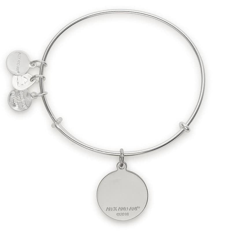 'It's a Girl' Charm Bangle