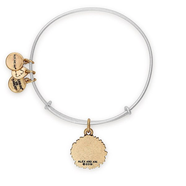 Sunflower Charm Bangle