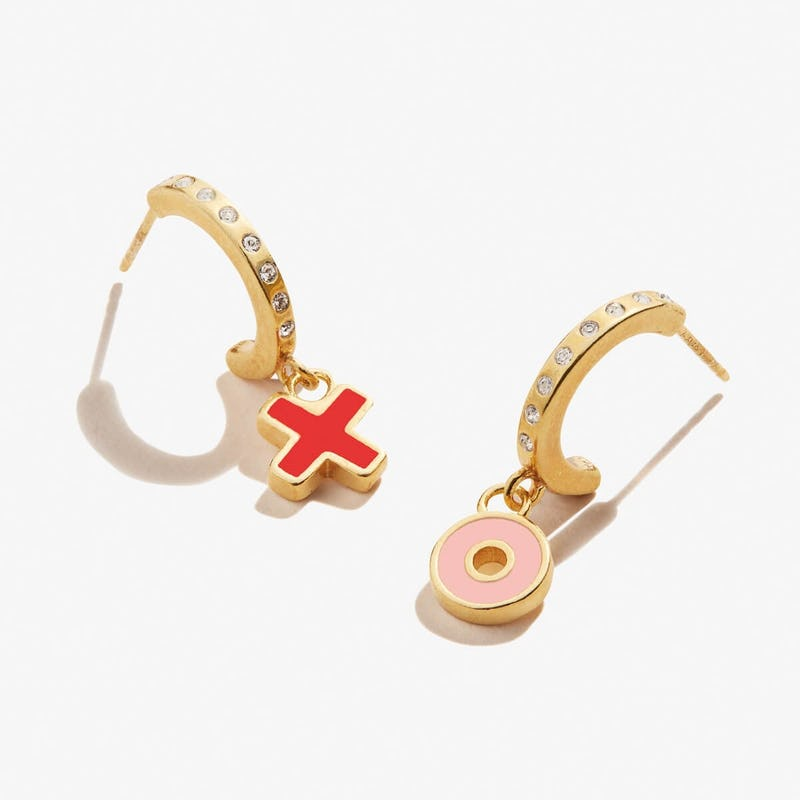 XO Hoop Earrings