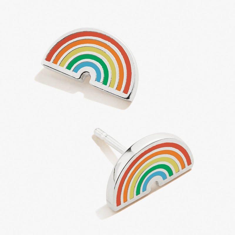 Rainbow Stud Earrings