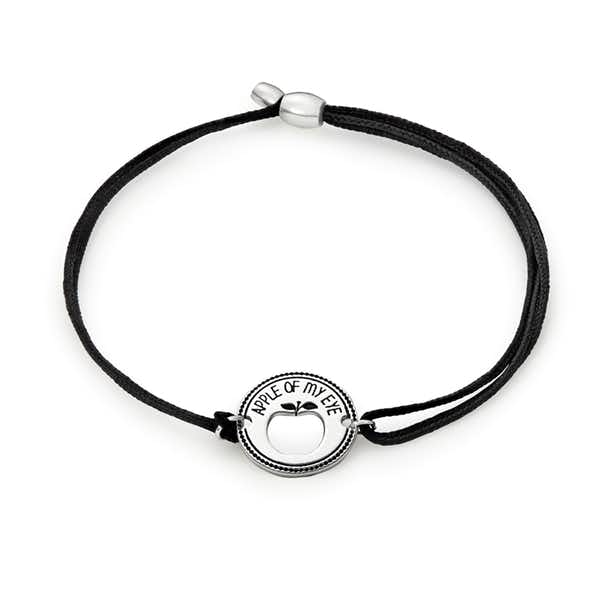 'Apple of My Eye' Pull Cord Bracelet