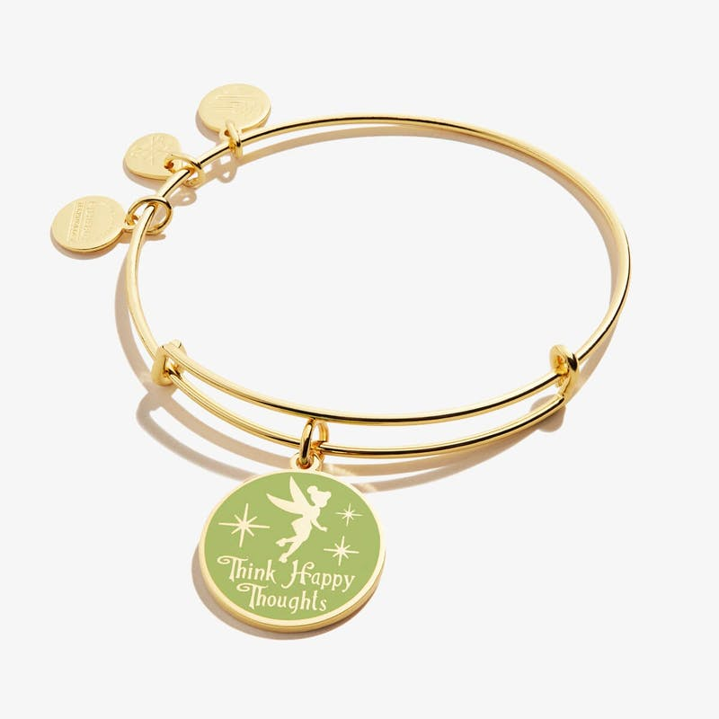 Disney® Tinker 'Bell Think Happy Thoughts' Charm Bangle
