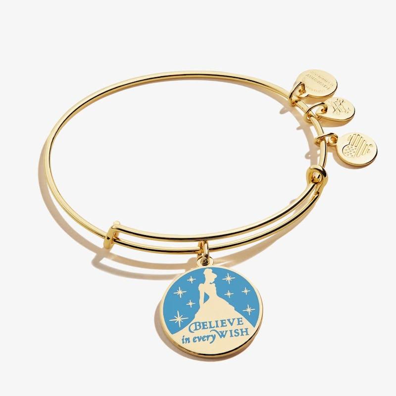 Disney® Cinderella 'Believe in Every Wish' Charm Bangle