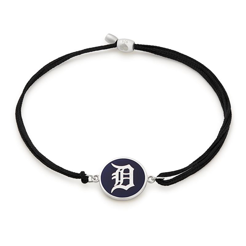 Detroit Tigers MLB Charm Pull Cord Bracelet