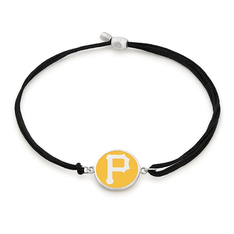 Pittsburgh Pirates MLB Charm Pull Cord Bracelet
