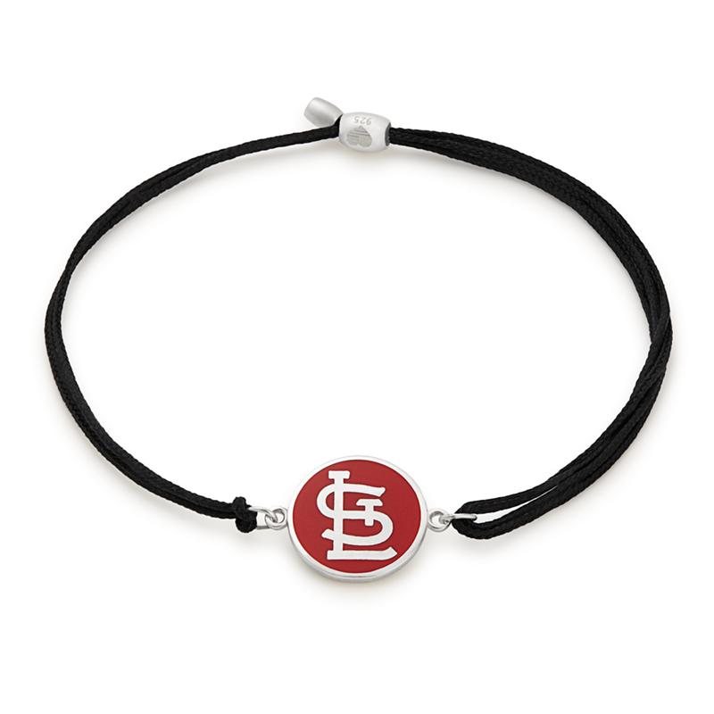 St. Louis Cardinals MLB Charm Pull Cord Bracelet