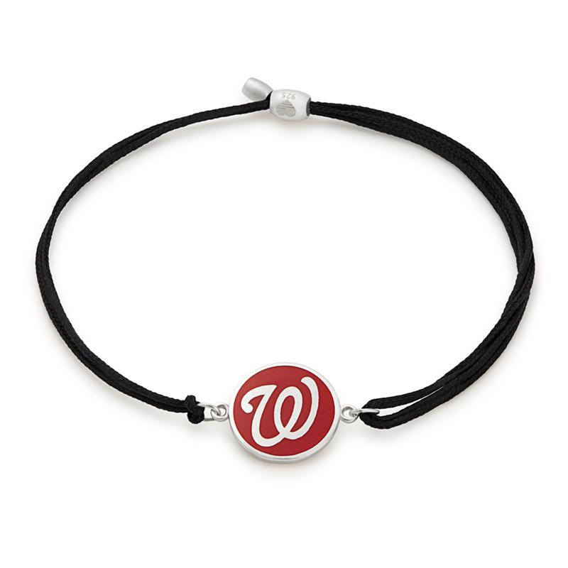 Washington Nationals MLB Charm Pull Cord Bracelet