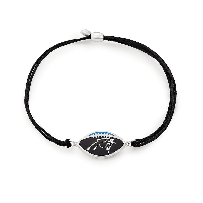 Carolina Panthers NFL Charm Pull Cord Bracelet