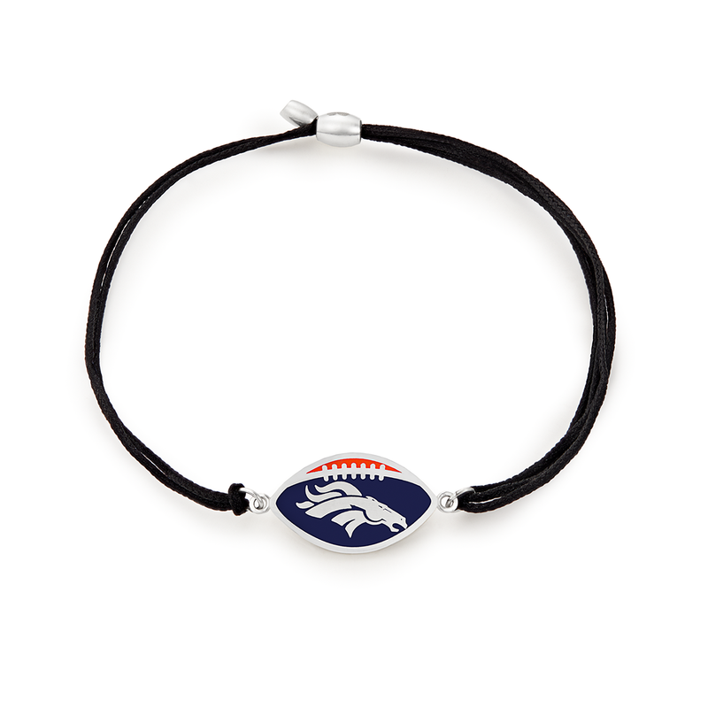 Denver Broncos NFL Charm Pull Cord Bracelet