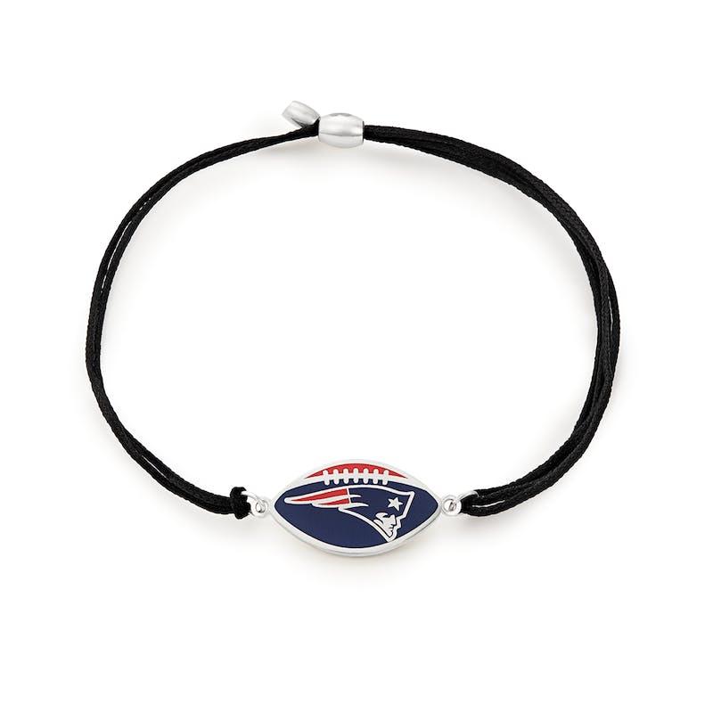 New England Patriots NFL Charm Pull Cord Bracelet
