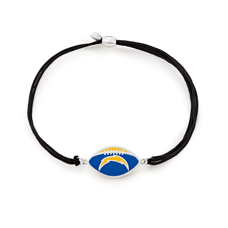 Los Angeles Chargers NFL Charm Pull Cord Bracelet