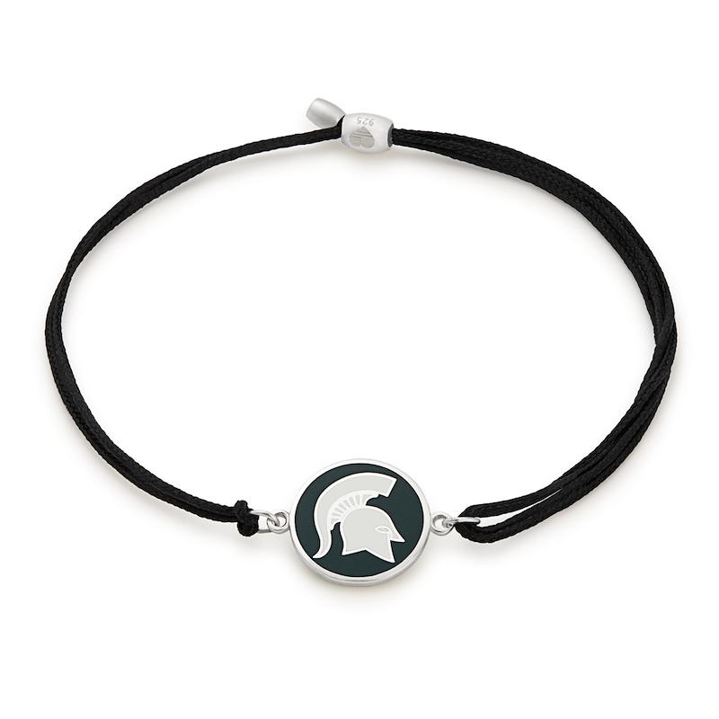 Michigan State University Pull Cord Bracelet