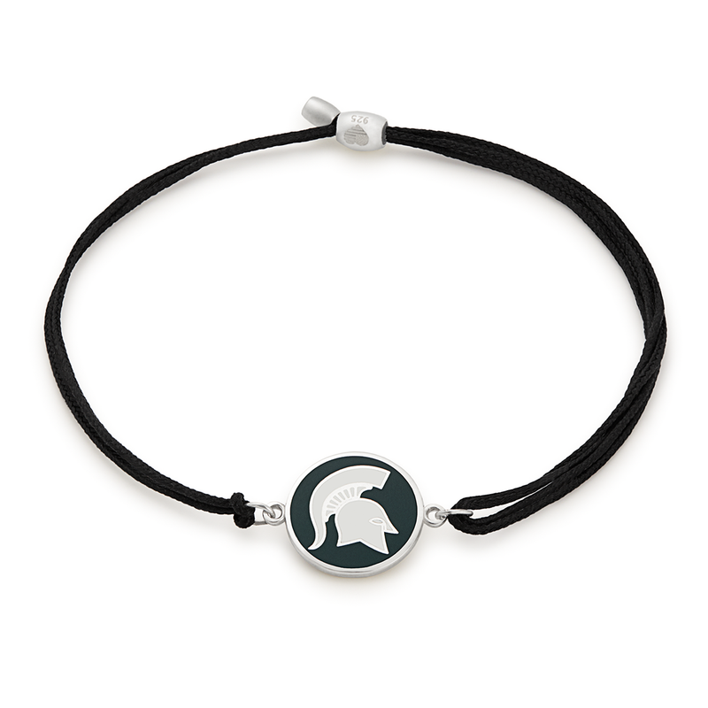 Michigan State University Pull Cord Bracelet