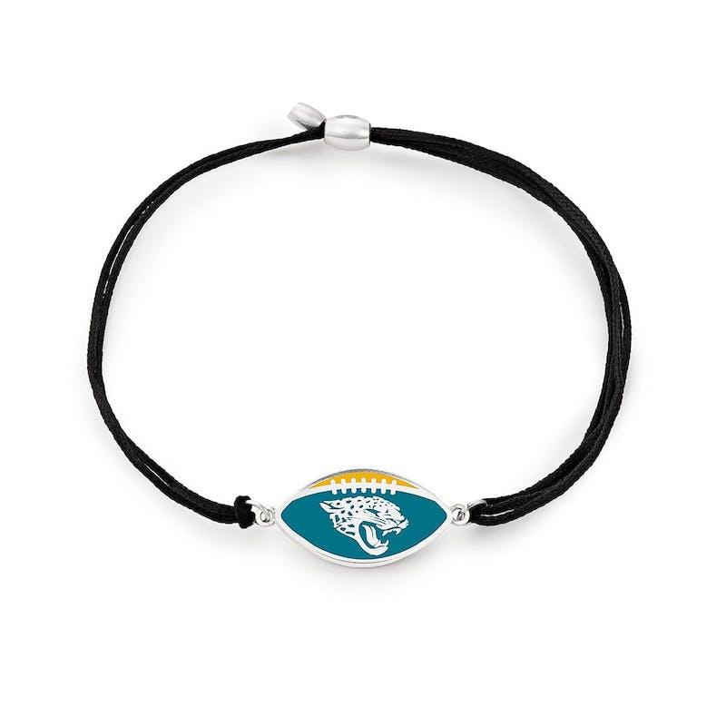 Jacksonville Jaguars NFL Charm Pull Cord Bracelet