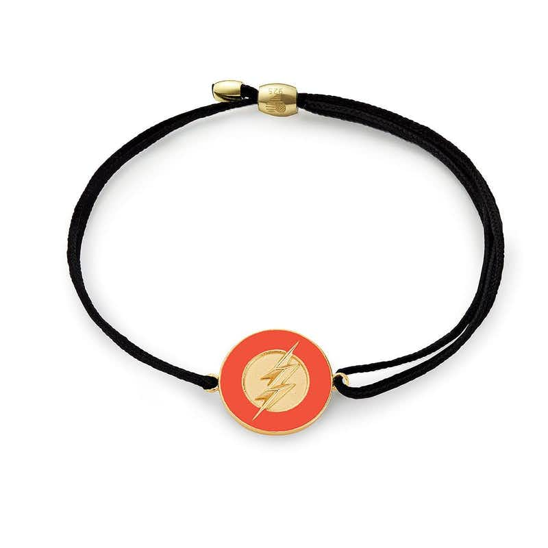 The Flash Justice League Pull Cord Bracelet