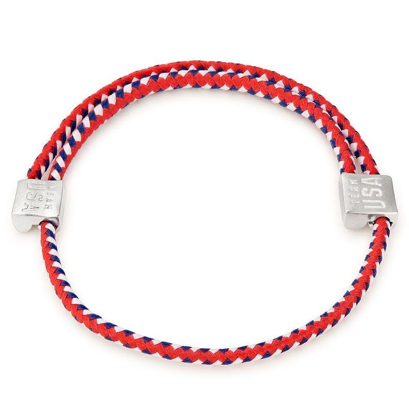 Team USA Red, White & Blue Hope Rope Bracelet
