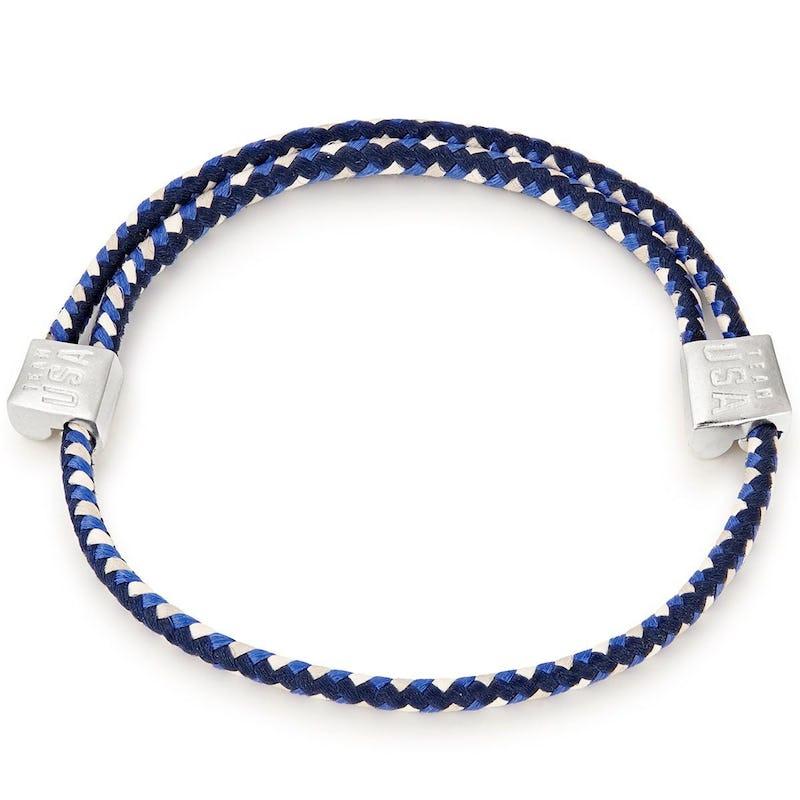 Team USA Blue Hope Rope Bracelet