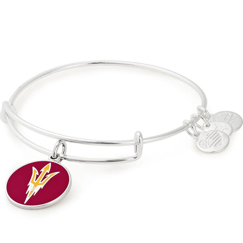 Arizona State Logo Charm Bangle