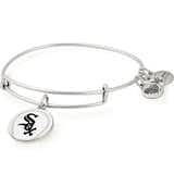 Chicago White Sox MLB Charm Bangle, Rafaelian Silver, Alex and Ani