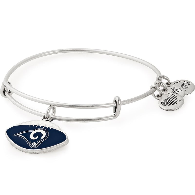 Los Angeles Rams NFL Charm Bangle, Rafaelian Silver, Alex and Ani