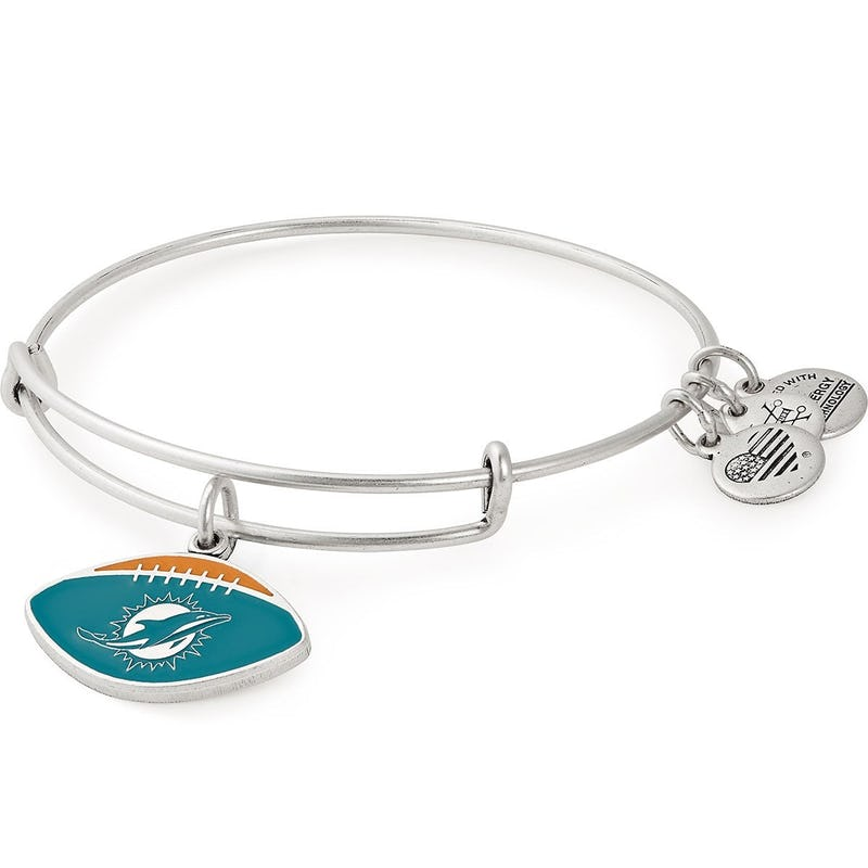 Miami Dolphins NFL Charm Bangle