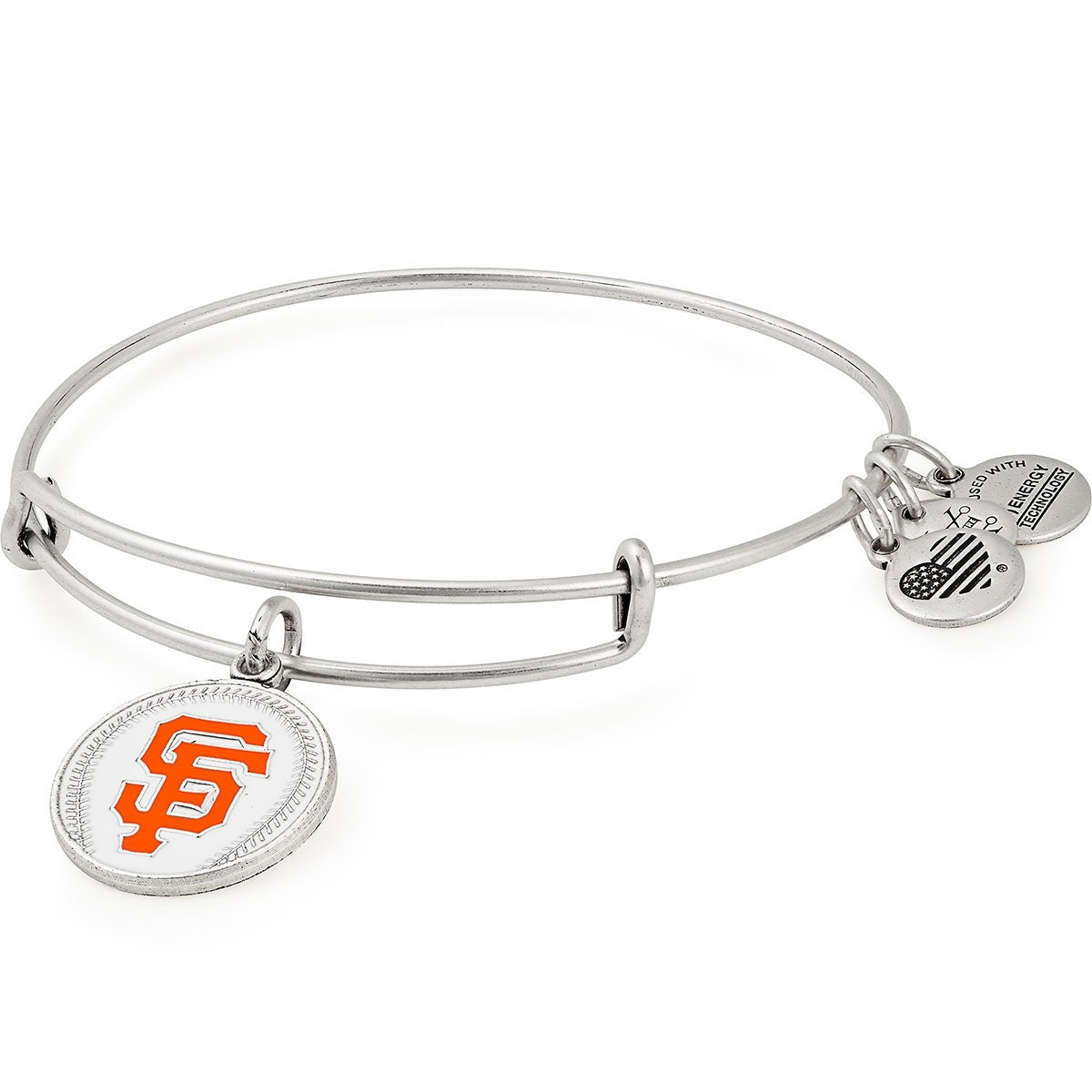 Swamp Fox Philadelphia Eagles Copper Alloy Bracelet with Team Glass Charm