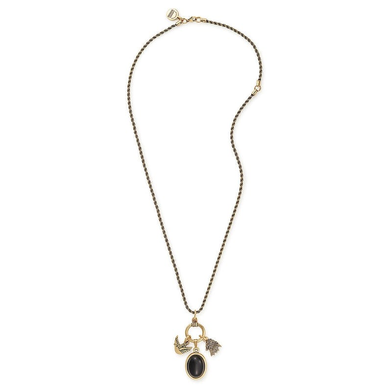 Game of Thrones™ House Lannister Trio Charm Necklace