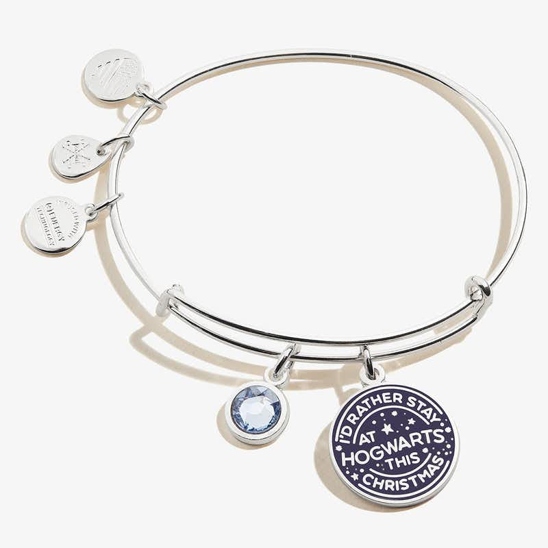 Harry Potter™ 'I'd Rather Stay at Hogwarts' Duo Charm Bangle