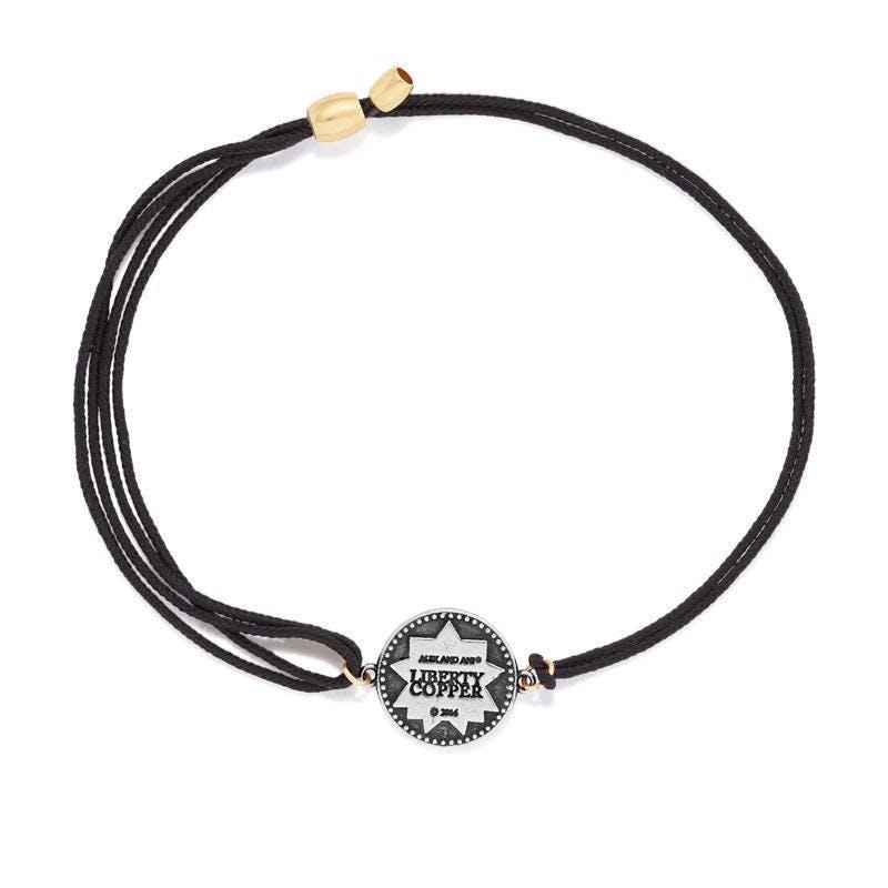 Liberty Copper™ Pull Cord Bracelet, 14kt Gold Filled Center