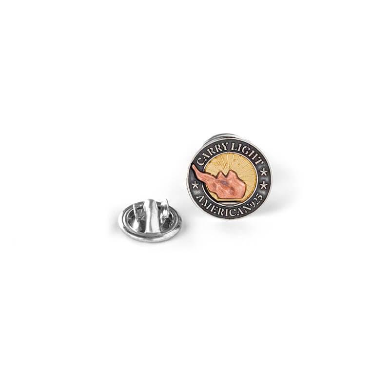 Liberty Copper™ Pin, 14kt Gold Center