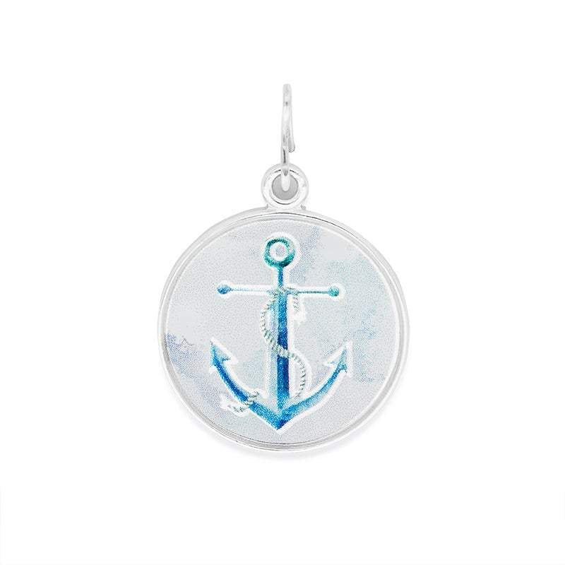 Anchor Art Necklace Charm