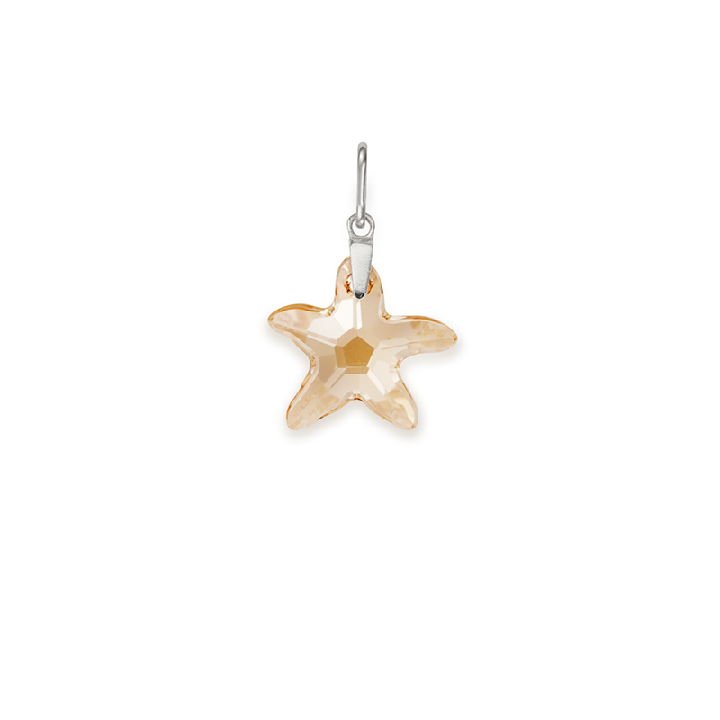 Sandy Starfish Necklace Charm
