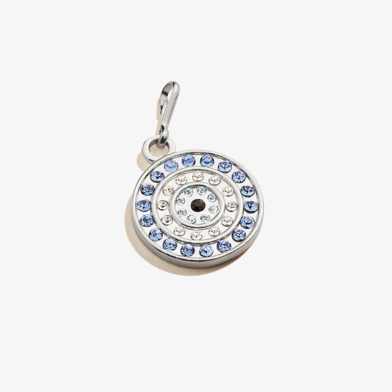 Evil Eye Pavé Crystal Charm, .925 Sterling Silver, Alex and Ani