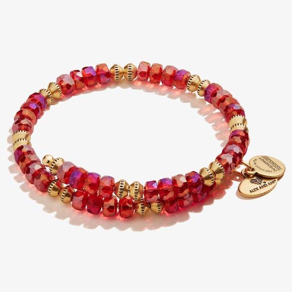 Dazzle Wrap Bracelet, Ruby