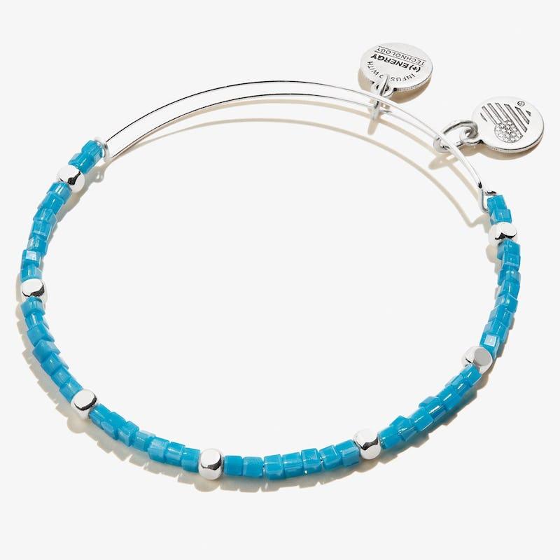 Gaiety Beaded Bangle, Cobalt Blue