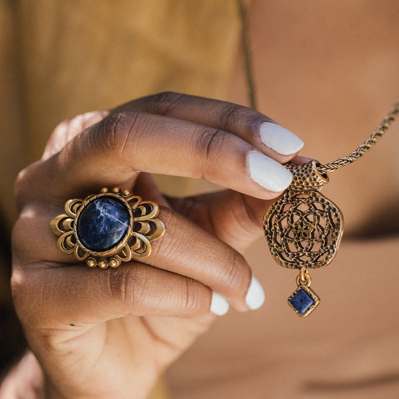 New Beginnings Statement Necklace