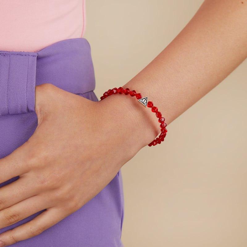 Harry Potter™ Illumination Wrap Bracelet, Maroon