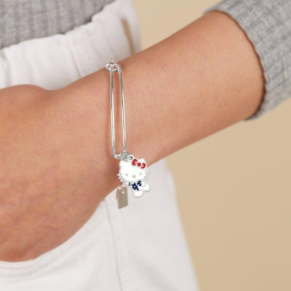 Hello Kitty Team USA Gymnast Charm Bangle