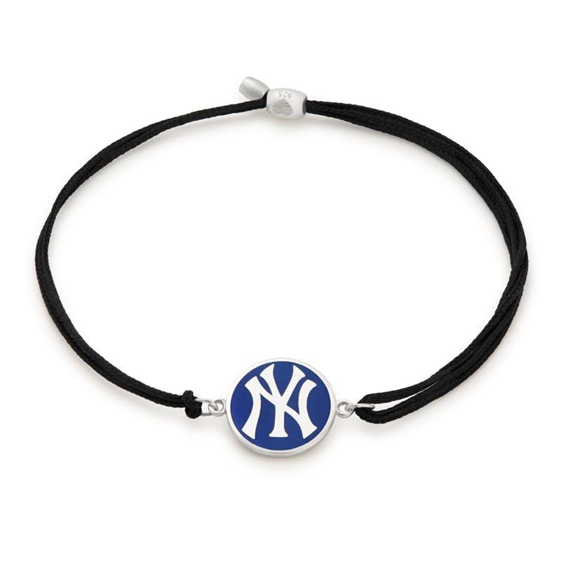 New York Yankees MLB Charm Pull Cord Bracelet