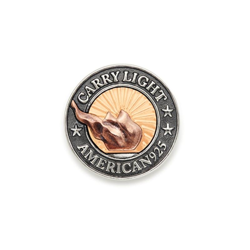 Liberty Copper™ Medallion, 14kt Gold Center