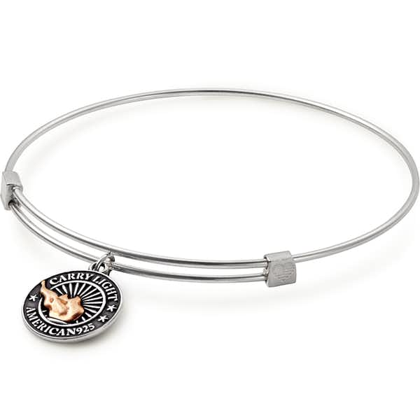 Liberty Copper™ Charm Bangle, Small