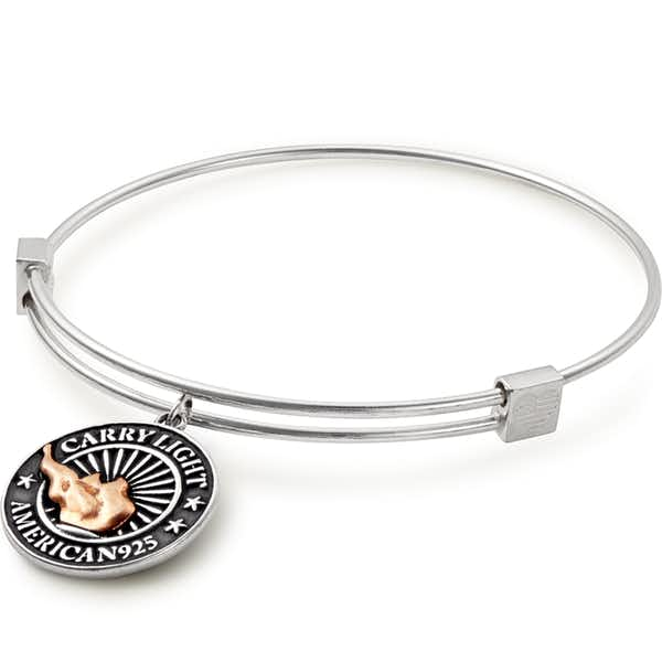 Liberty Copper™ Charm Bangle, Medium