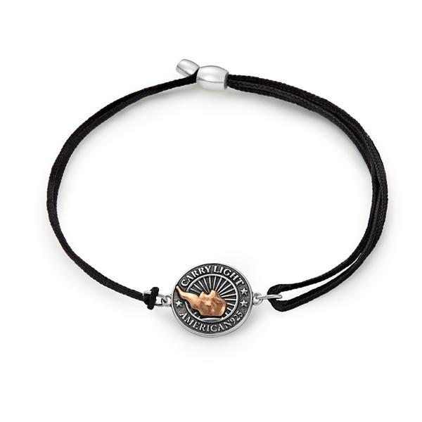 Liberty Copper™ Pull Cord Bracelet