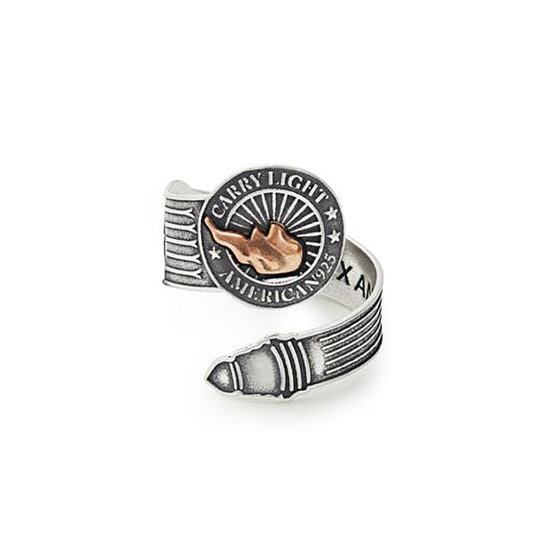 Liberty Copper™ Spoon Ring