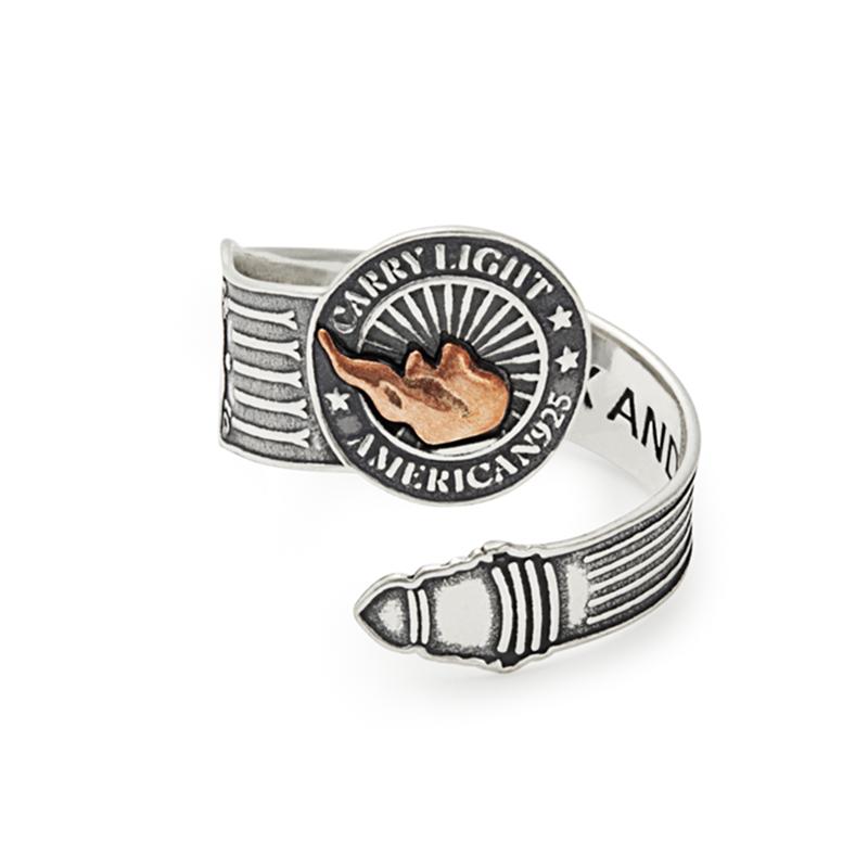 Liberty Copper™ Spoon Ring, Men's