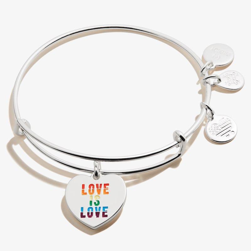 'Love is Love' Charm Bangle